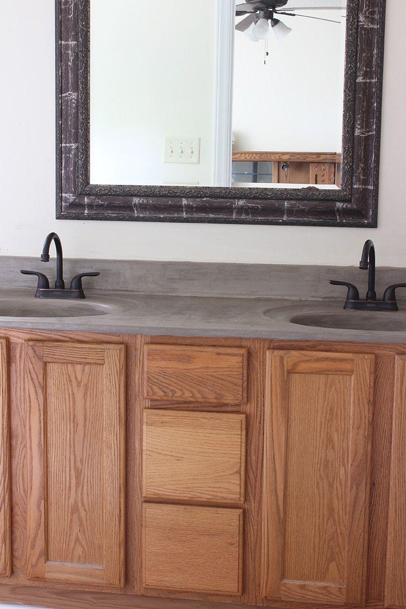 Beyond Paint How To Update A Bathroom Vanity Without Sanding Rustic Bathroom Vanities Bathroom Vanity Makeover Diy Bathroom Vanity