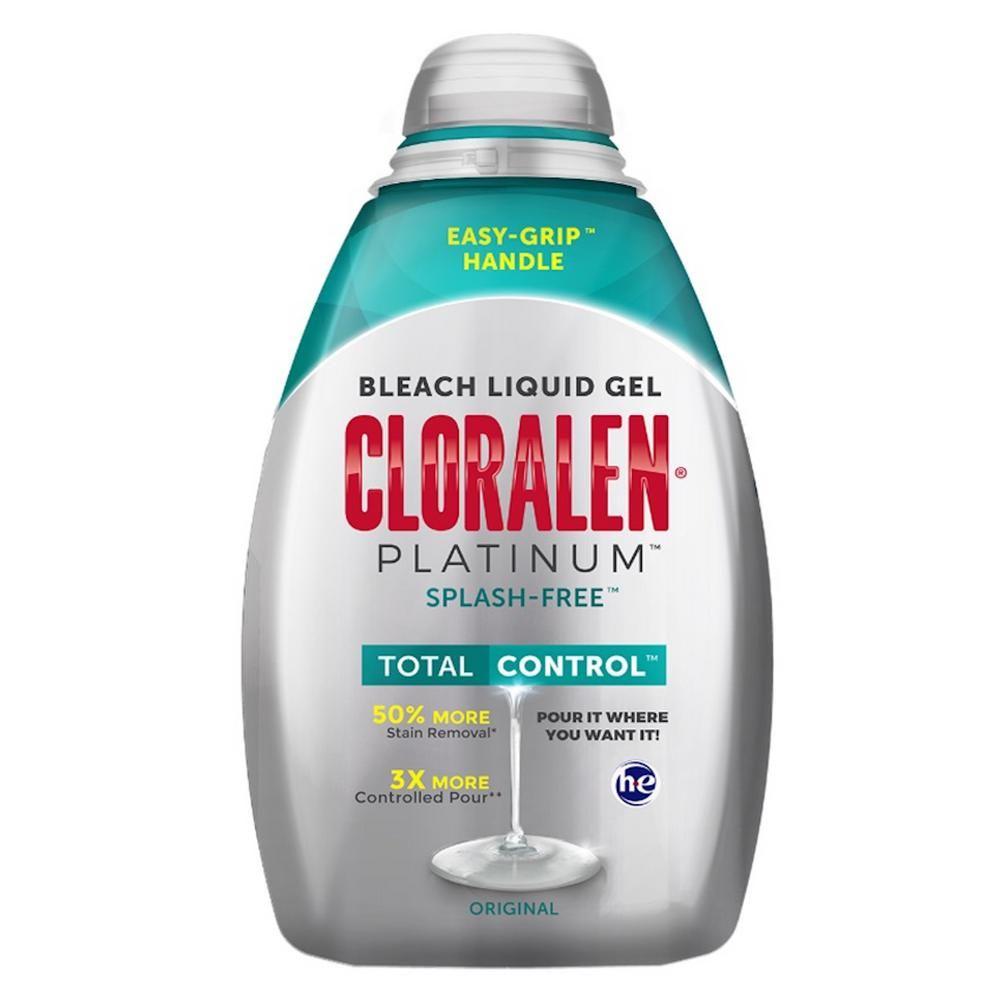 Cloralen platinum splashfree bleach oz only walmart