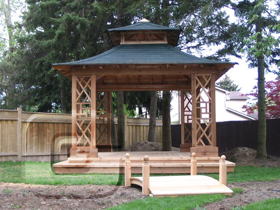 japanese style gazebo plans google search gardening