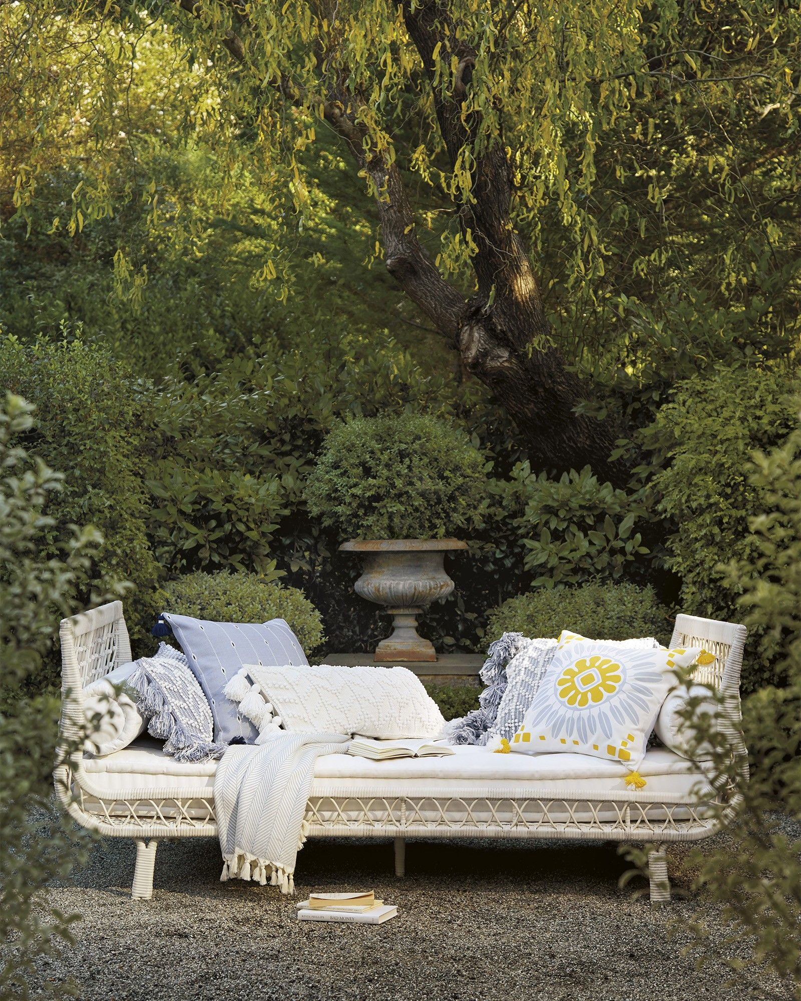 Capistrano Outdoor Daybed Driftwood in 2020 Outdoor