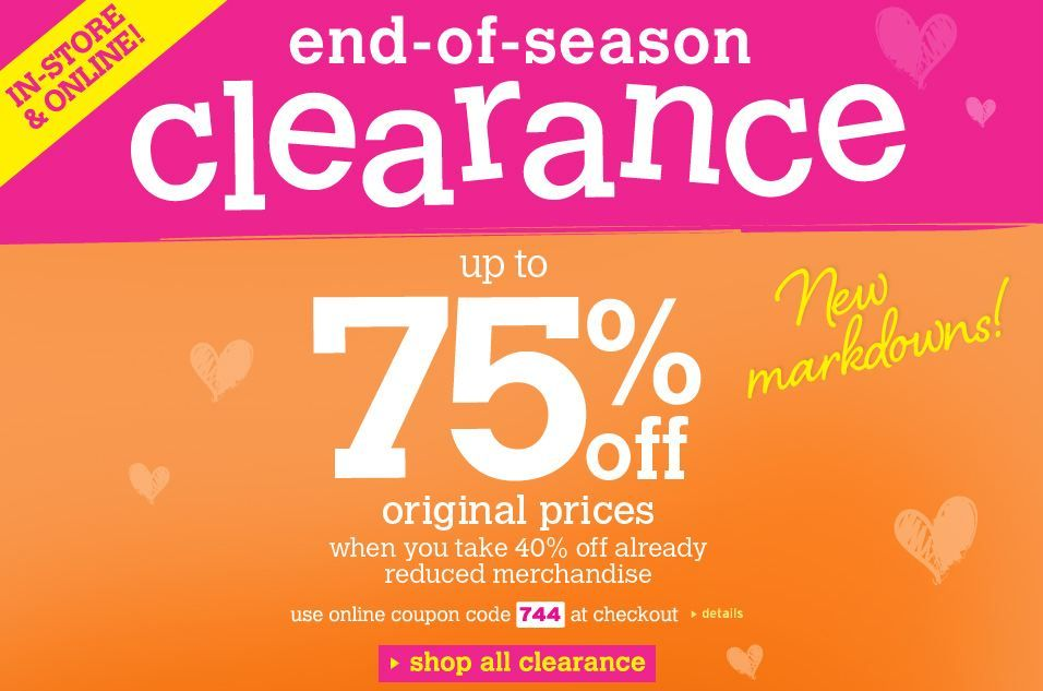 Justice up to 75ff Sale Through January 8, 2013