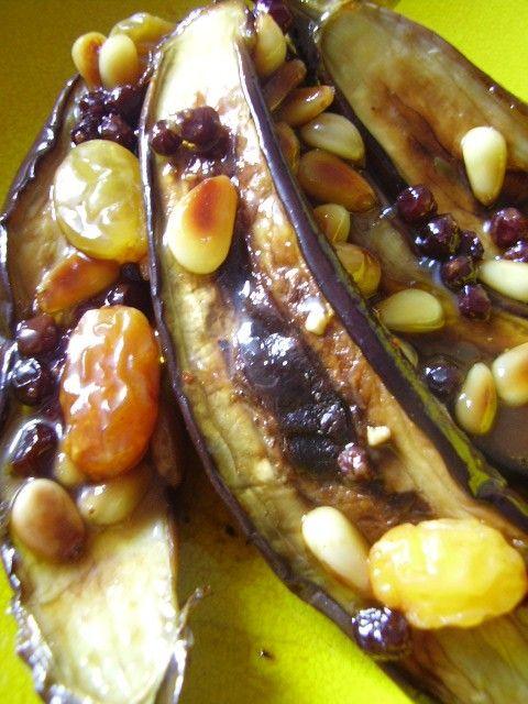 marinated eggplant