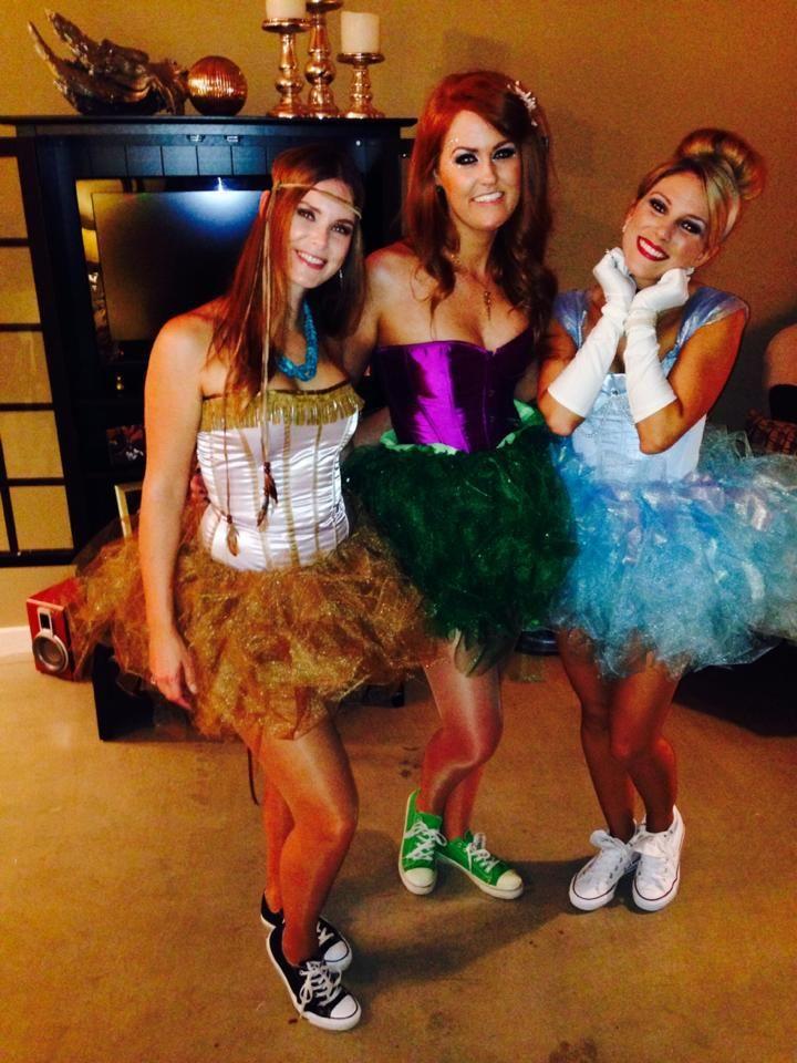 Cute Halloween costume idea for girls Disney princesses Halloween - princess halloween costume ideas