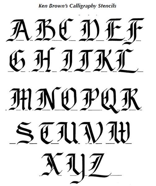 Ken Brown | Alphabets/Letter Styles/Fonts | Pinterest | Brown ...