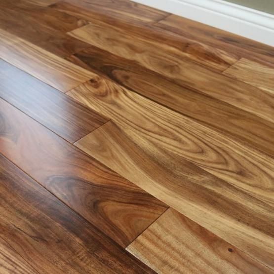 Acacia Natural 9 16 X 4 3 4 Smooth Small Leaf Wood Floors Wide