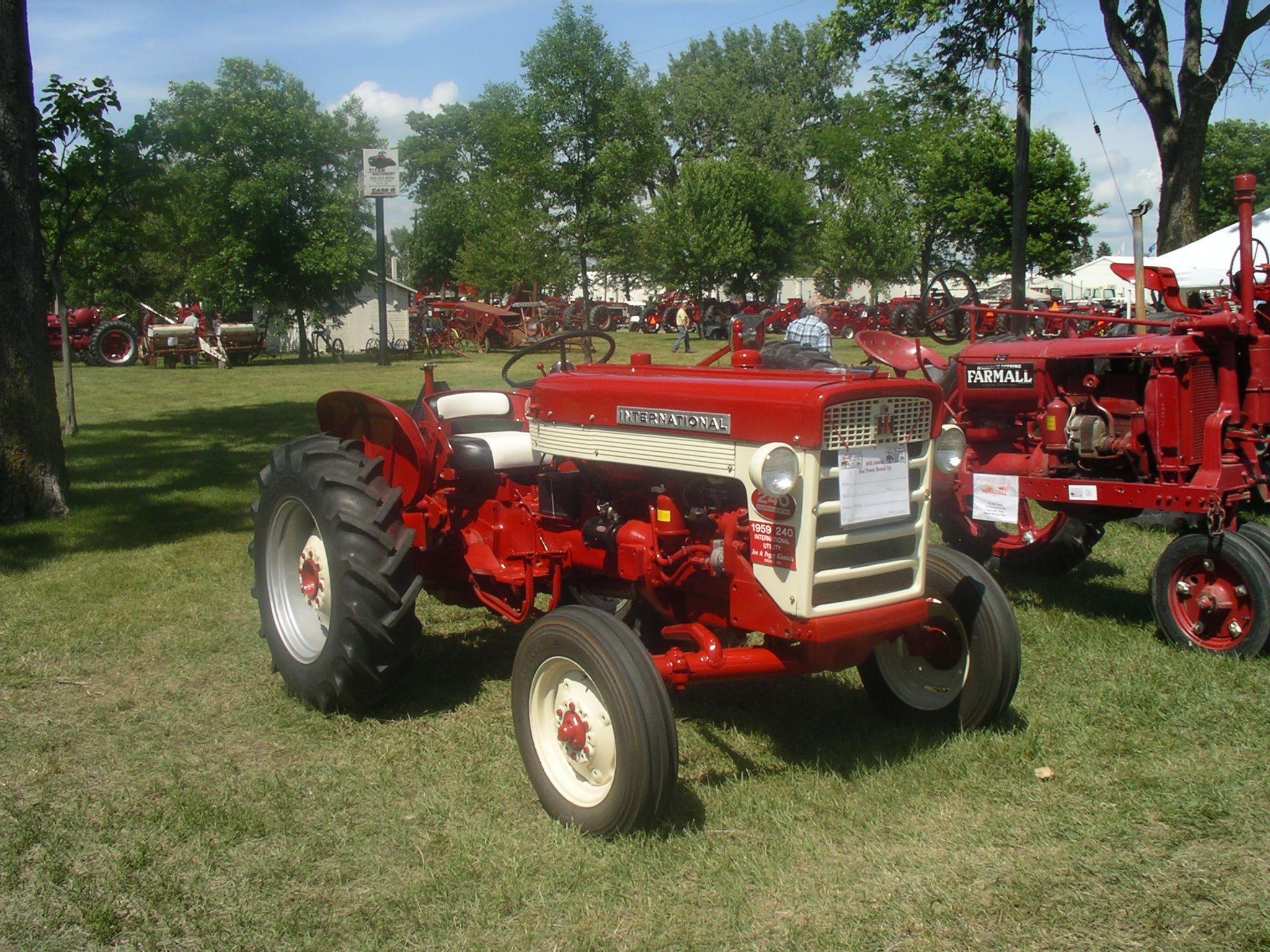 1959 ih 240 utility
