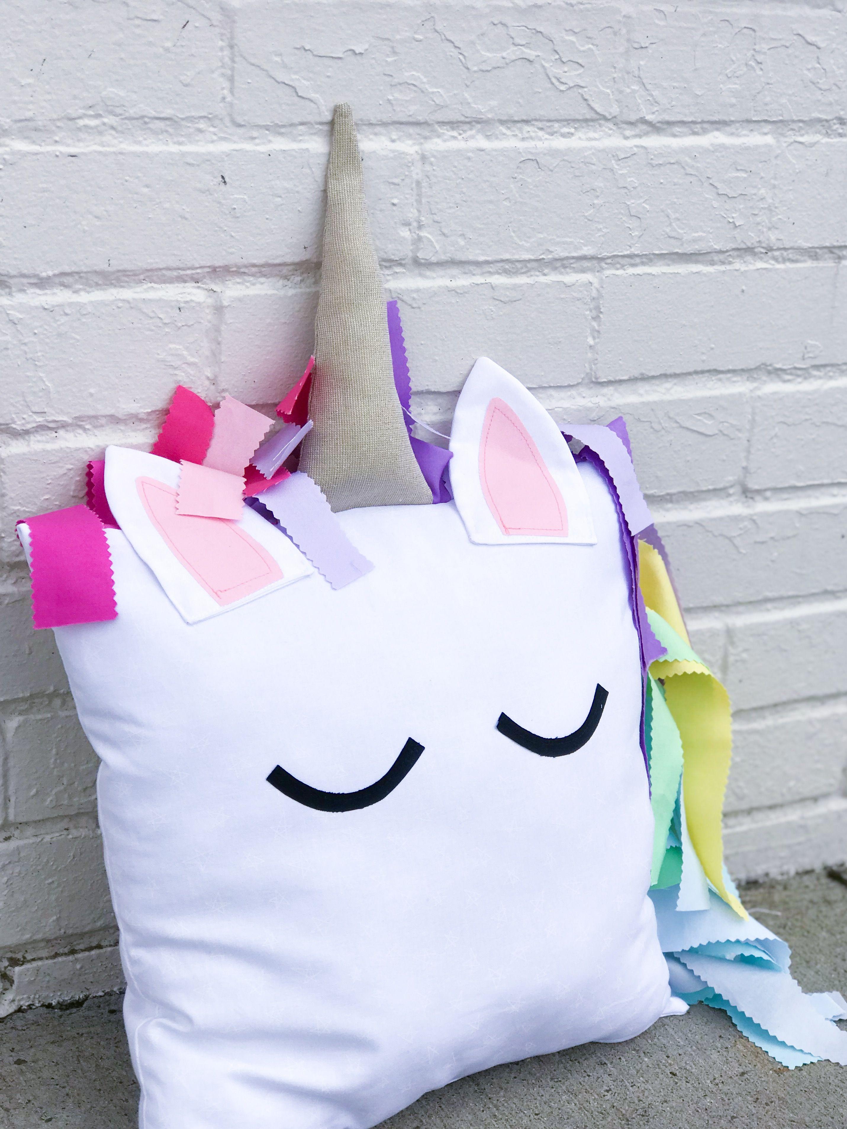 I believe unicorn pillow pdf sewing pattern pillow pattern