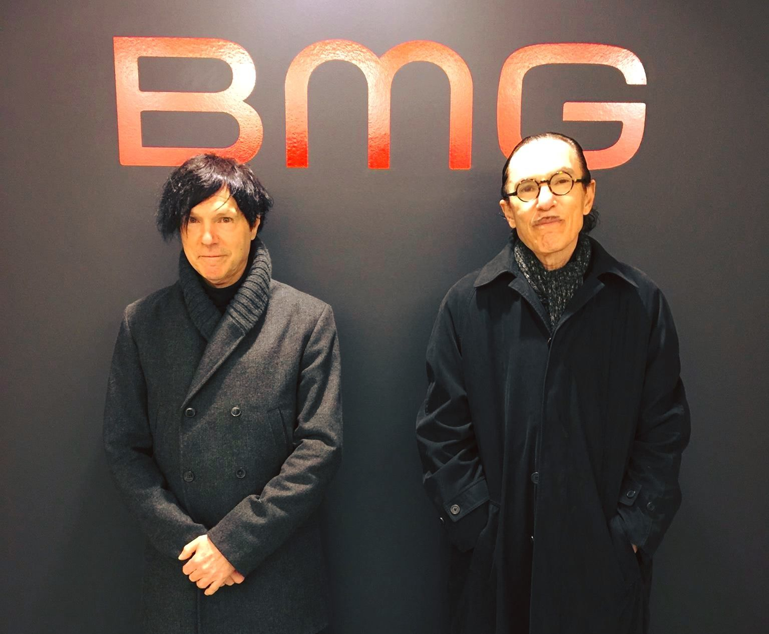 Russell And Ron At Bmg Uk Feb 2017 Sparks Band