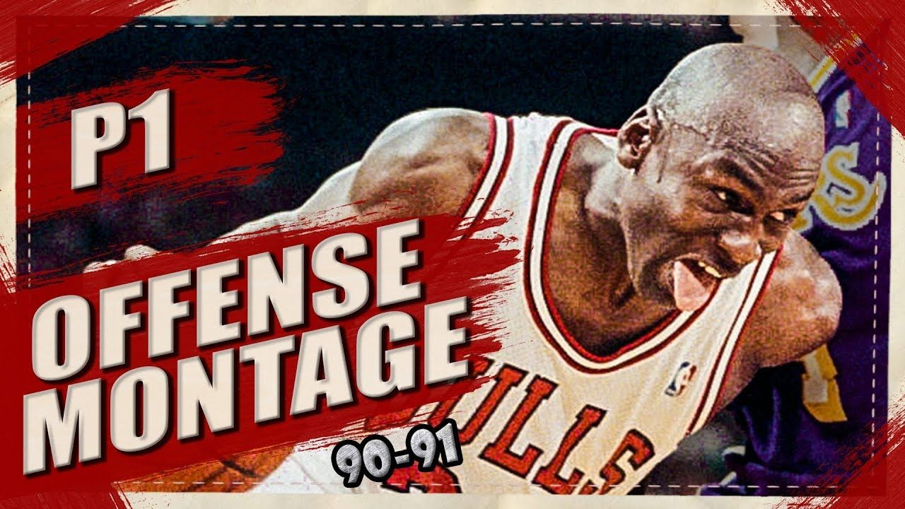 bc98190a9c1815 Michael Jordan UNSTOPPABLE Offense Highlights Montage 1990 1991 (Part 1).