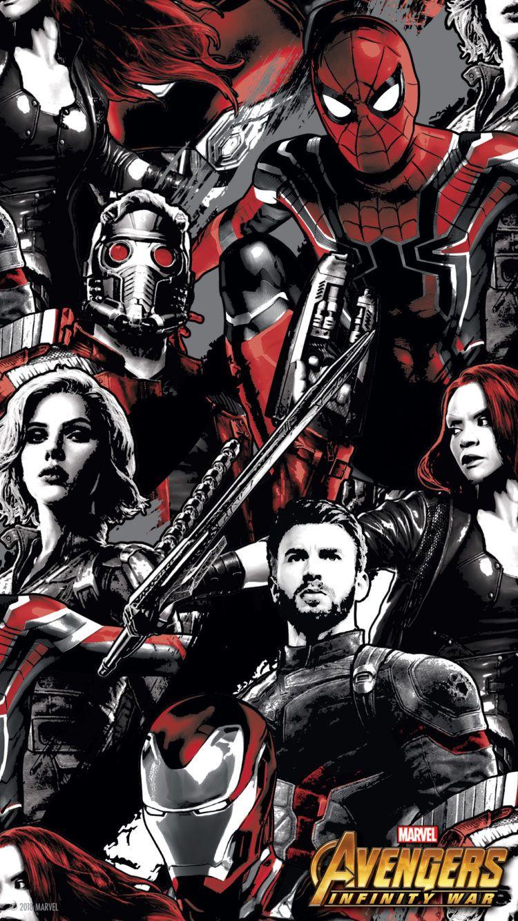 Lengkapi Perangkat Seluler Anda Dengan Wallpapers Dari Avengers Infinity War Marvel Superheroes Avengers Marvel