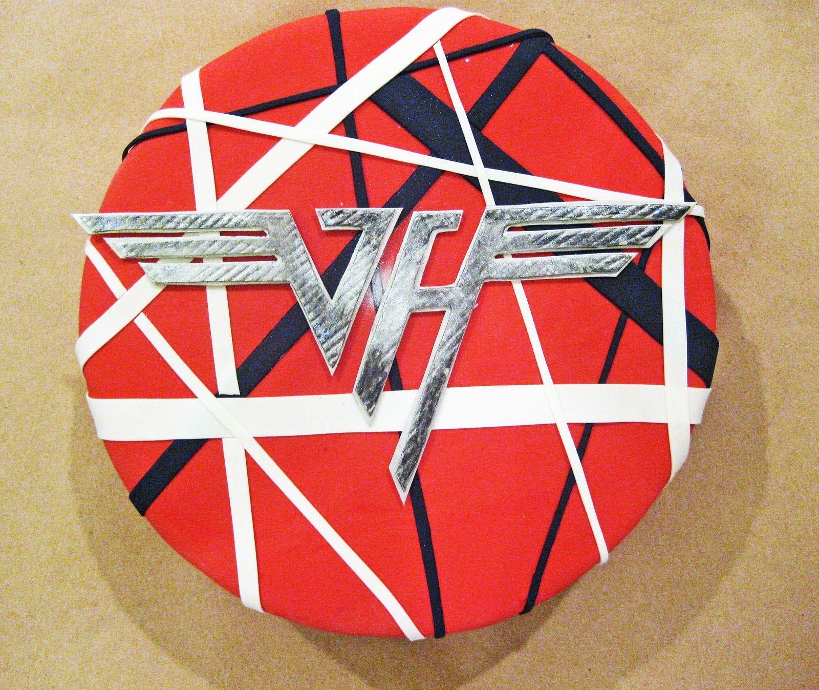 Van Halen Cake By Cake Hero Www Cakehero Com Vanhalen Cake Funny Birthday Cakes Van Halen My Birthday Cake