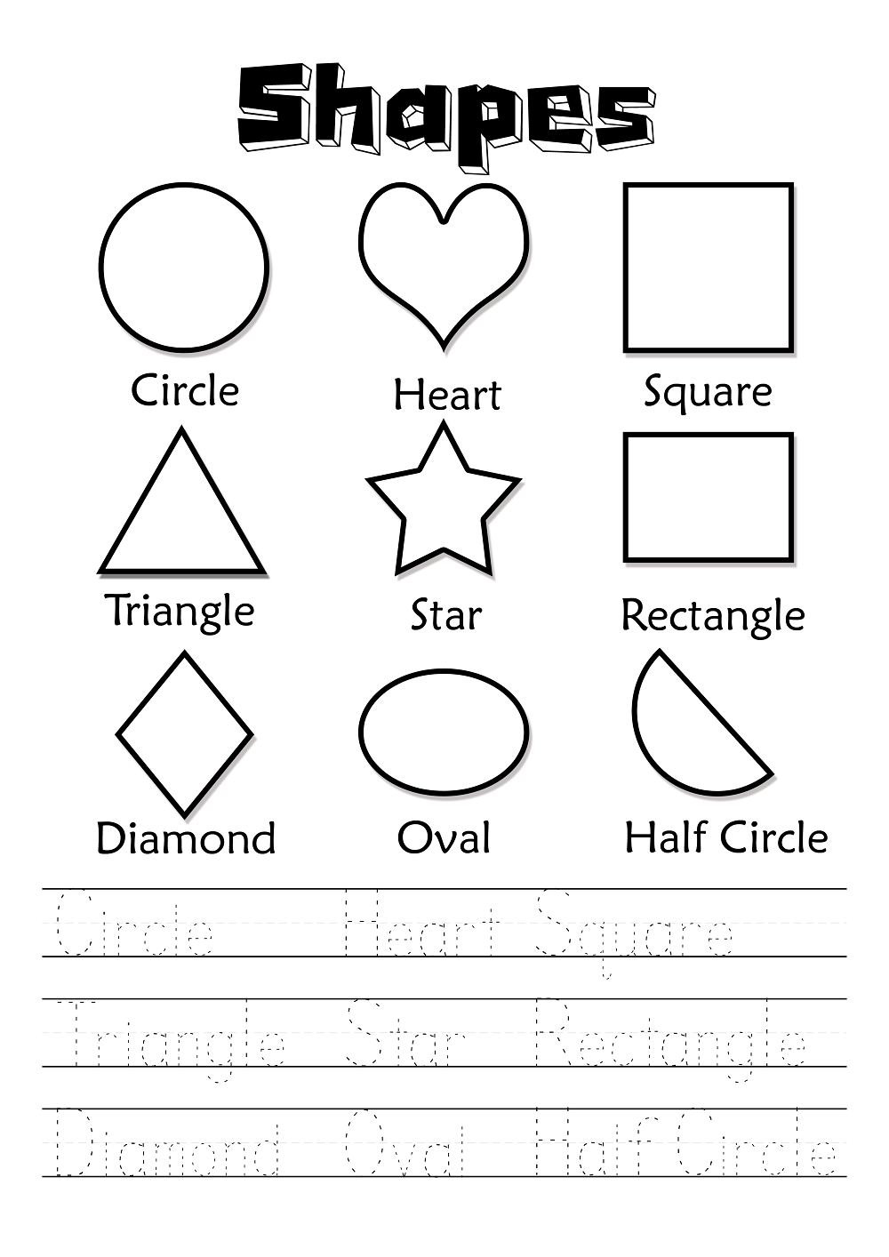 Activity Worksheets for Kids to Print | Kids Worksheets Printable