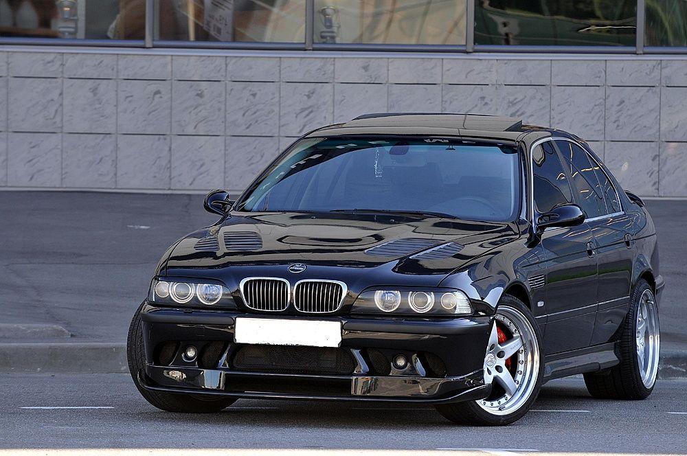 Bmw 540i E39 M5 Style Beautiful High Polished Black On Black Bmw