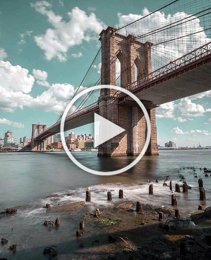 Brooklyn Bridge, New York in 2020 Lock screen wallpaper