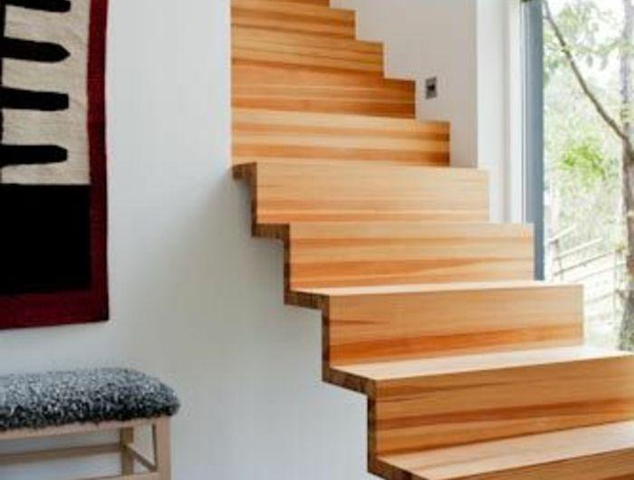 43 photospour fabriquer un escalier en bois sans efforts - realiser un escalier exterieur