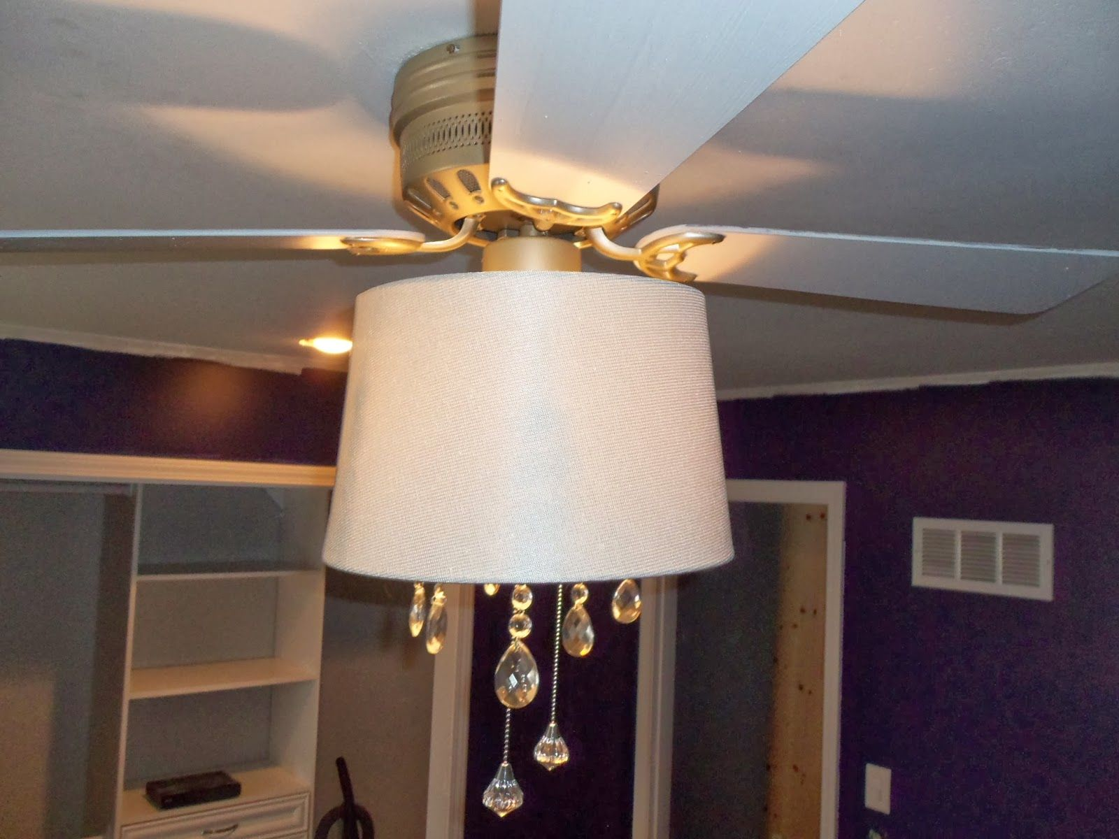 It S Been A Long Week But A Really Productive One The Main Focus Of Our Remodel This Week Was Rewi Ceiling Fan Chandelier Ceiling Fan Diy Bedroom Lighting Diy