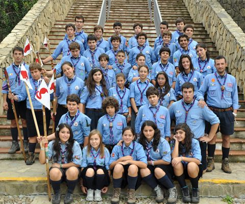 Scouts And Guides From Agesci In Italy The National