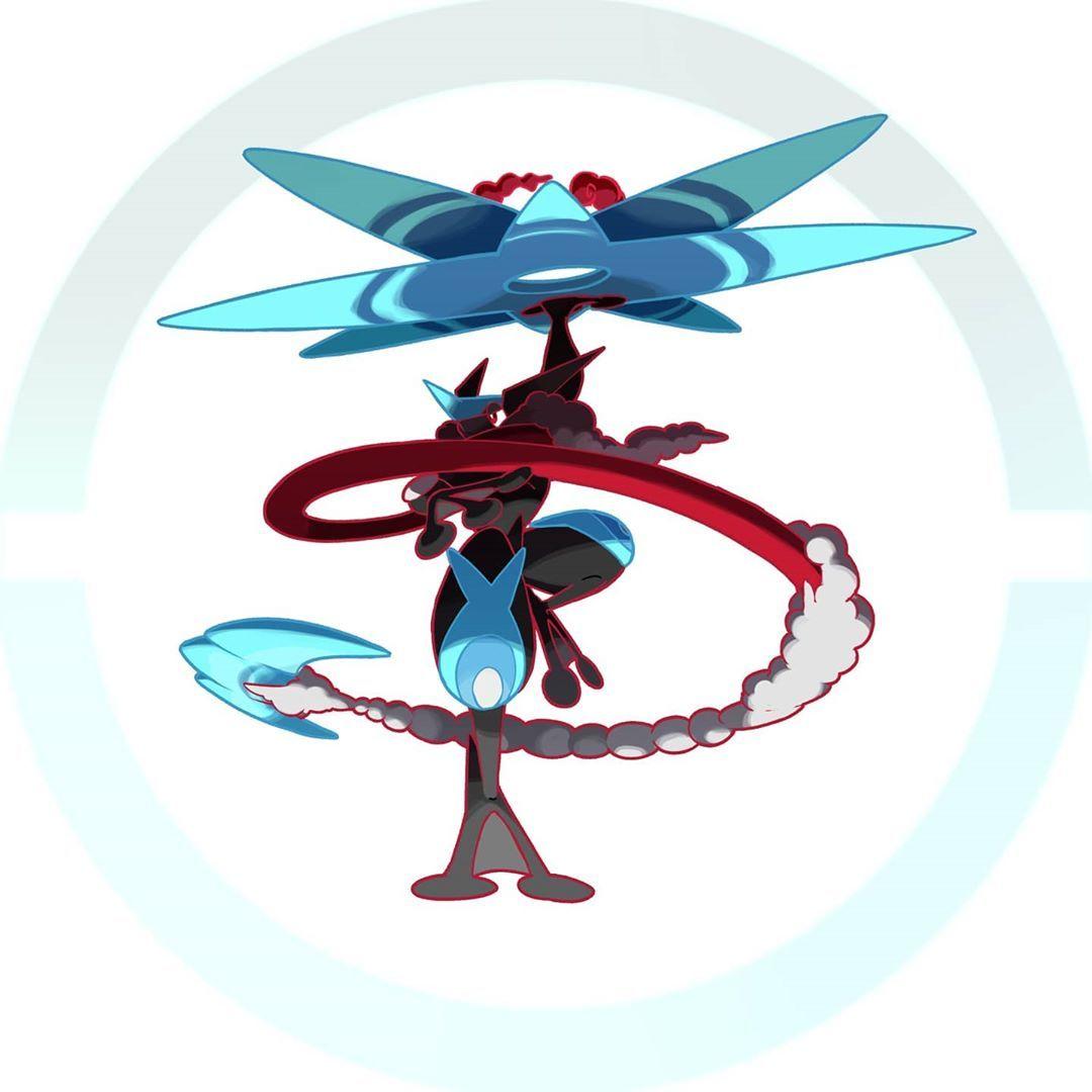 greninja gigantamax shiny pokemon instagram fusion well ash cool looking cards alternate drawings ve