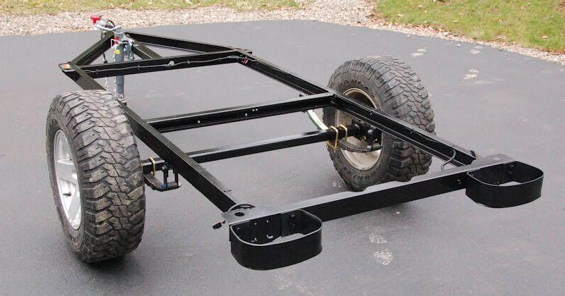 Bolt Together Fiberglass Jeep Tub Trailer Kit Expedition Portal Expedition Trailer Trailer Kits Trailer Plans