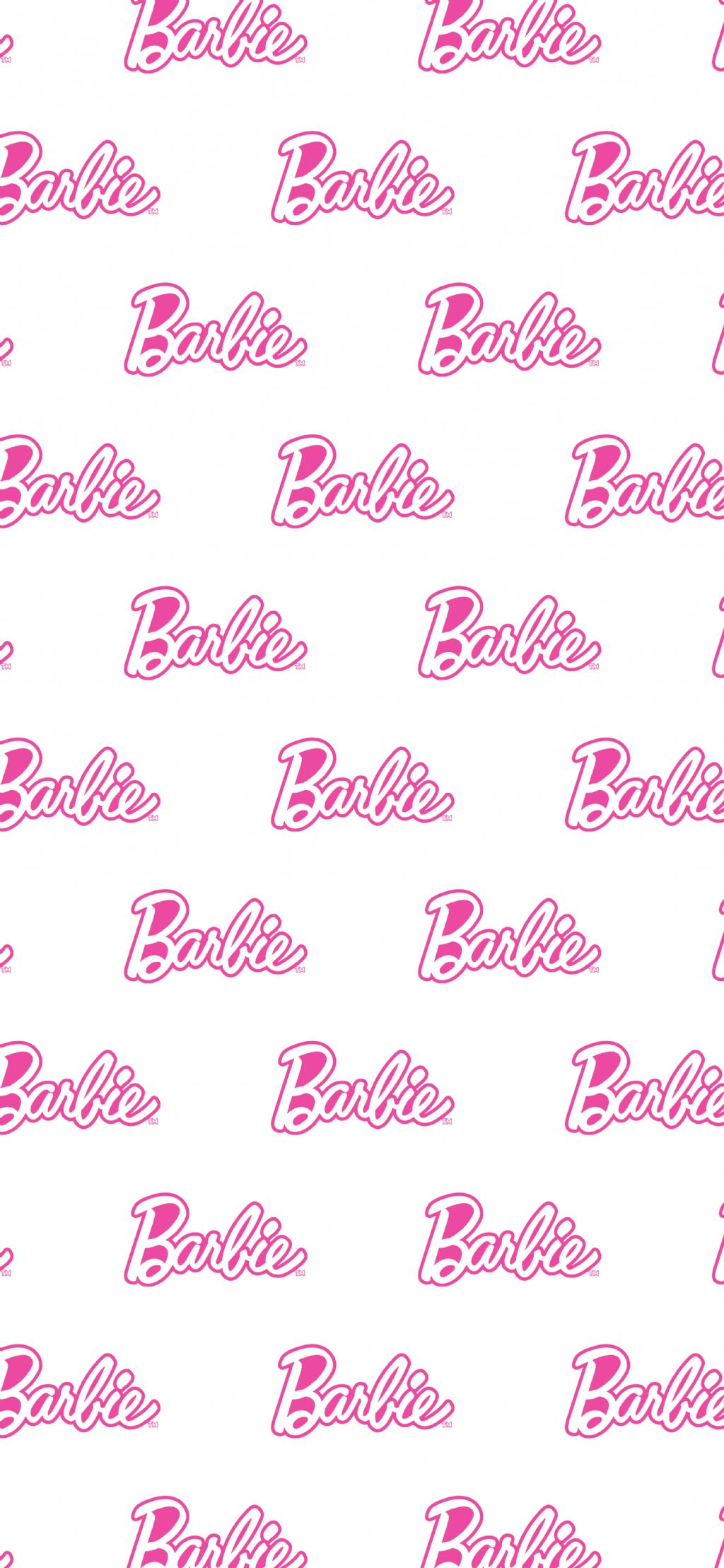 Barbie Wallpaper Papel De Parede Cor De Rosa Papel De Parede Barbie Imagem De Fundo Para Iphone