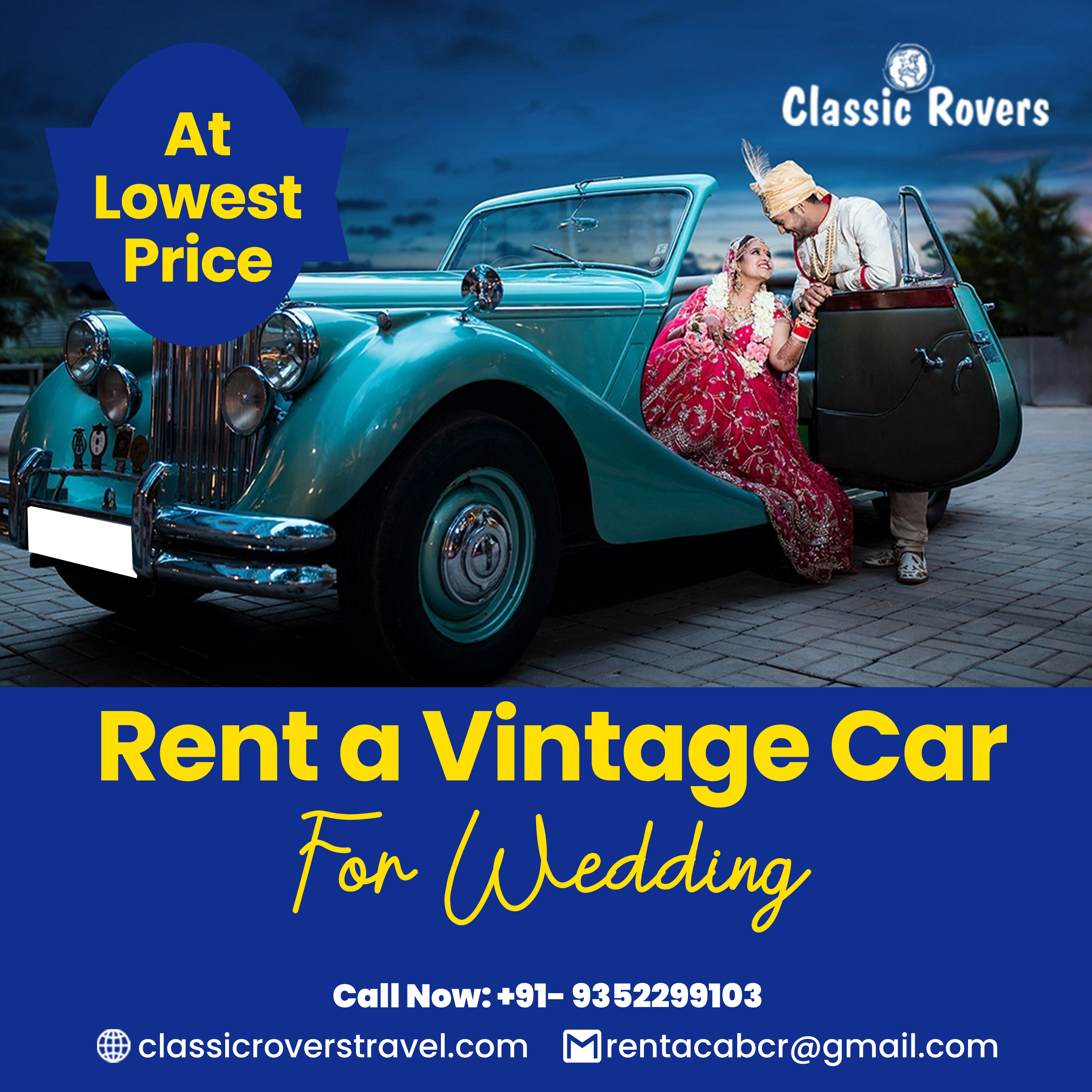 Rent A Vintage Car For Wedding In 2021 Vintage Car Rental Car Rental Vintage Cars