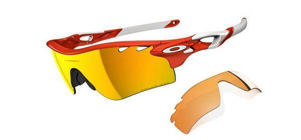 e46f16f79d Oakley RadarLock Path Blood Orange Fire Iridium Sunglasses ...