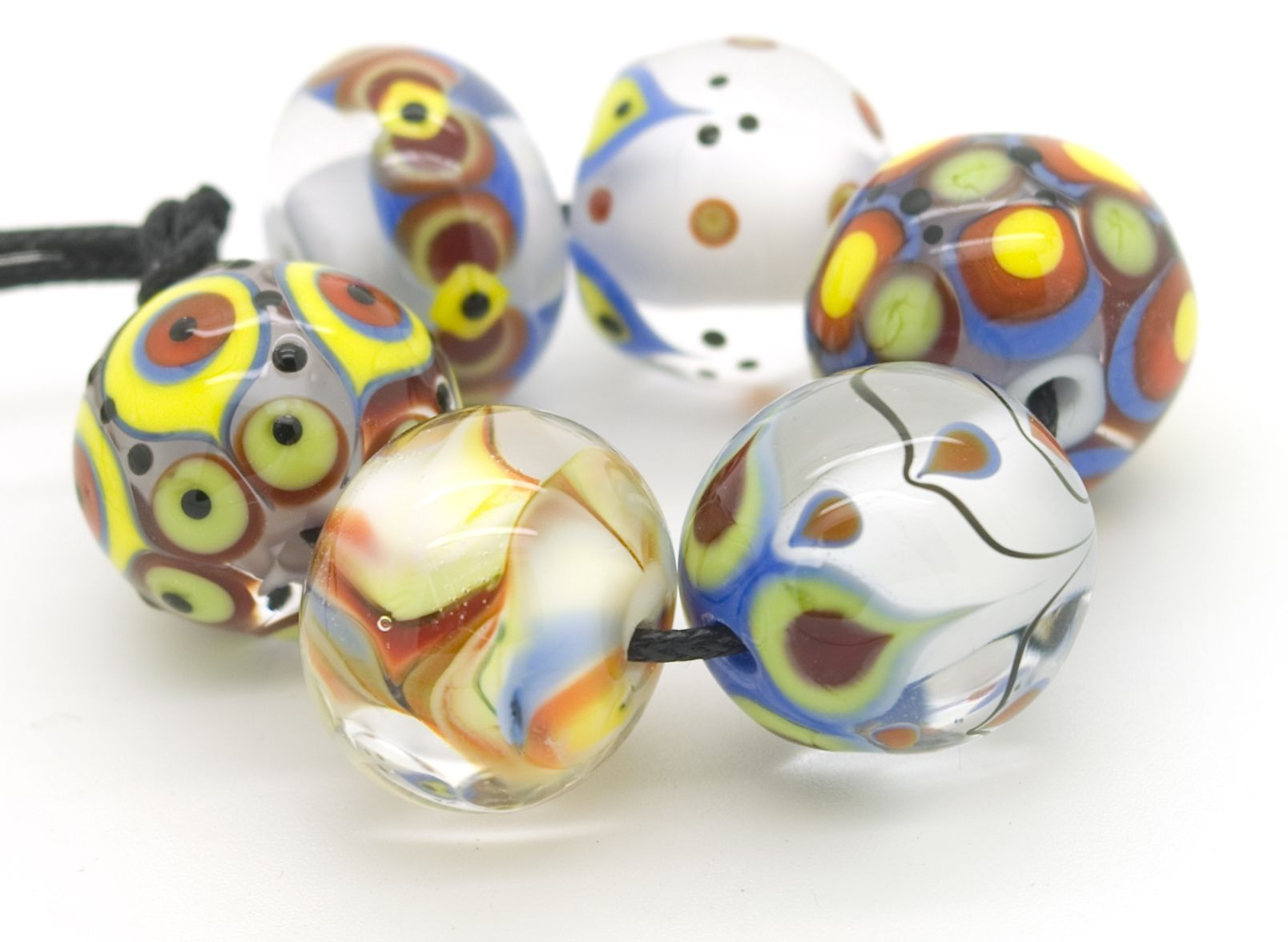 Meagan Lily Lampwork August 13 Brights