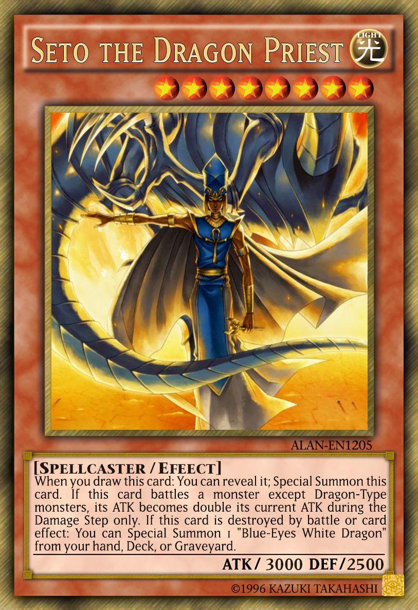 Kisaras And Priest Seto Yu Gi Oh Seto The Dragon Priest By