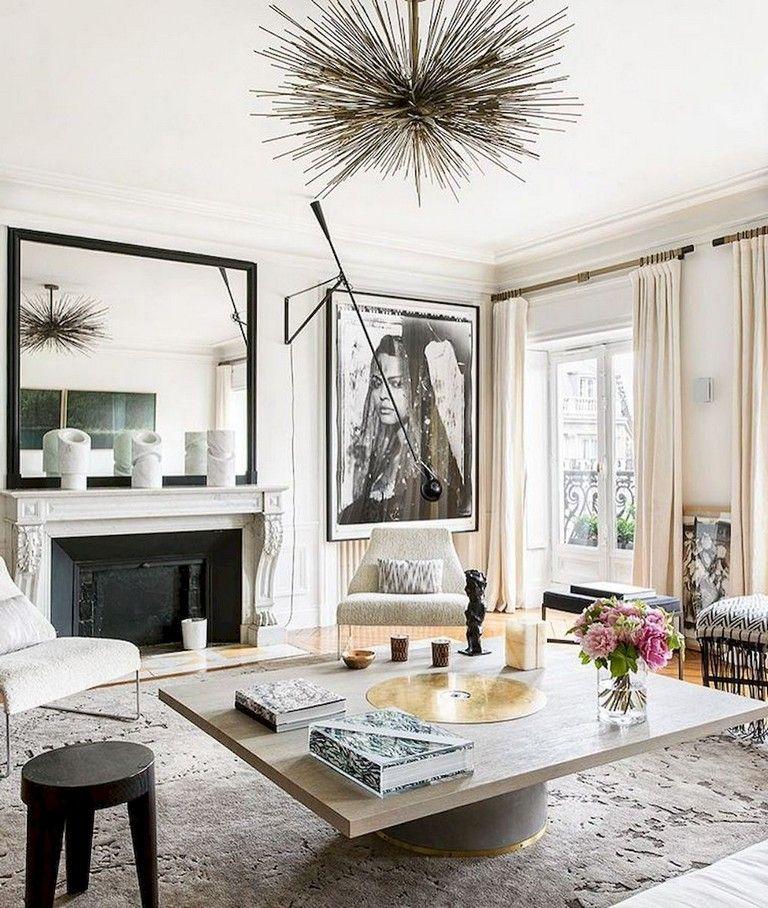 103 Amazing Parisian Chic Apartment Decor Ideas Chic Apartment Decor Modern French Interiors Parisian Decor