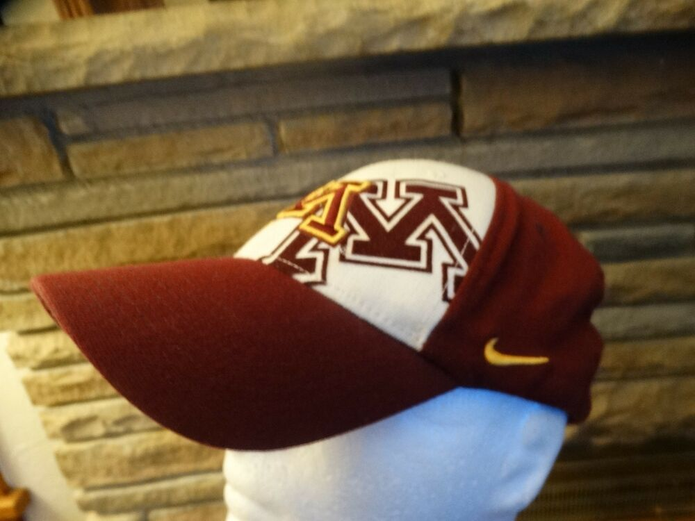 on sale d1814 05ff5 MINNESOTA GOLDEN GOPHERS CAP HAT MAROON WHITE NIKE FITTED SIZES M L NCAA    Sports Mem, Cards   Fan Shop, Fan Apparel   Souvenirs, College-NCAA   eBay!