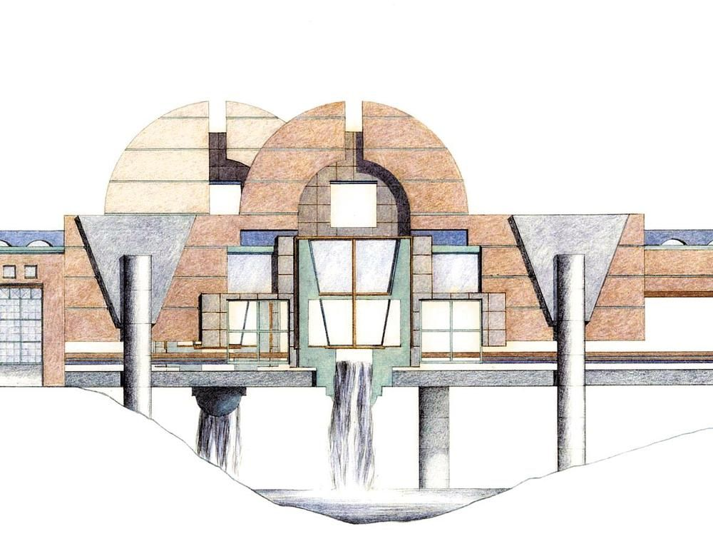 FARGO – It was meant to put Fargo-Moorhead on the map, a cultural center built into a bridge linking the two downtowns.     The designer was Michael Graves, then a rising star in architecture. Ronald Ramsay, then and now an architecture professor at North Dakota State University, said recentl...