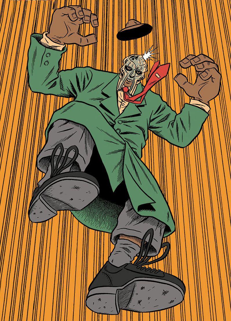 MF DOOM | MF Doom / Madvillain | Hip hop, Hip hop art, Rap music