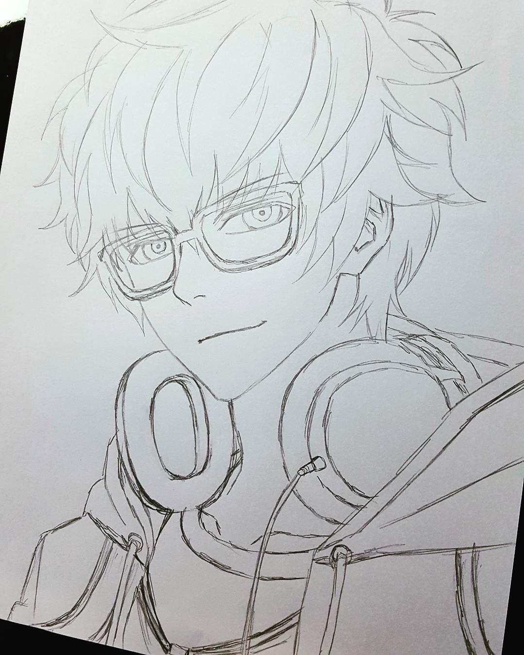 3d Drawing Tutorial Em 2020 Esboco De Anime Desenho 3d E Arte Anime