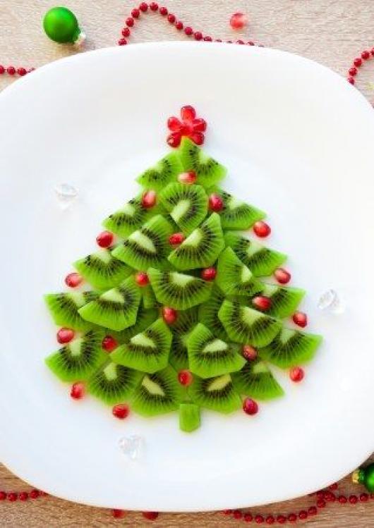 Kiwi sapin #christmasparty #christmas #party #desserts