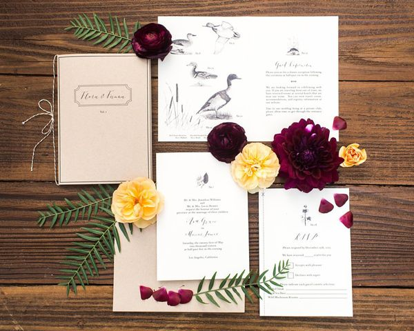 Flora And Fauna Wedding Inspiration With Images Wedding