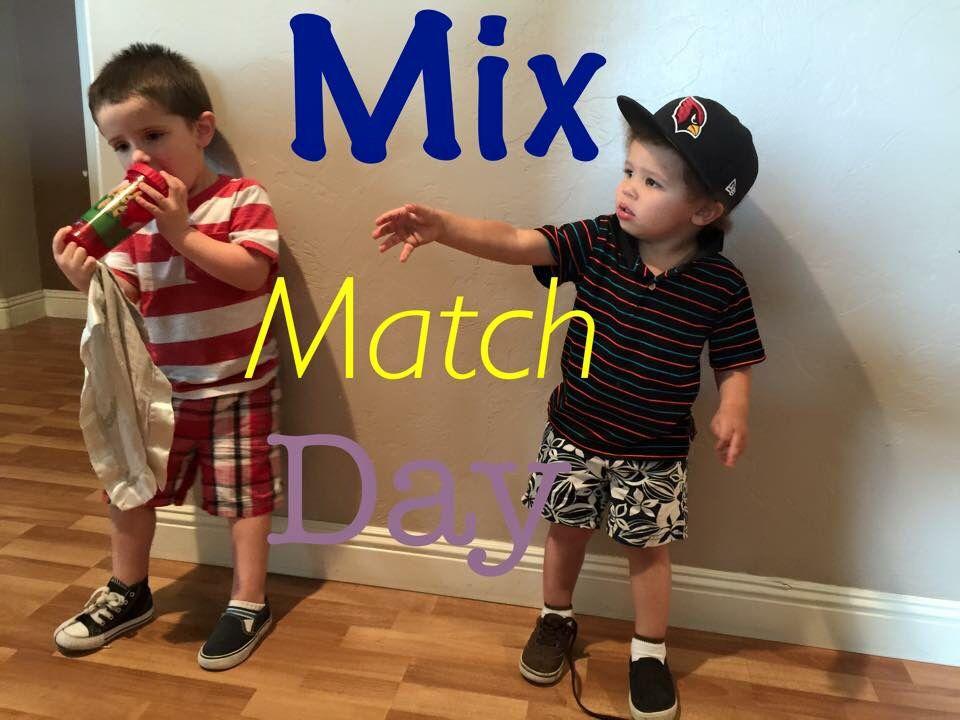 Mix match day | Spirit day | Pinterest | Mix match