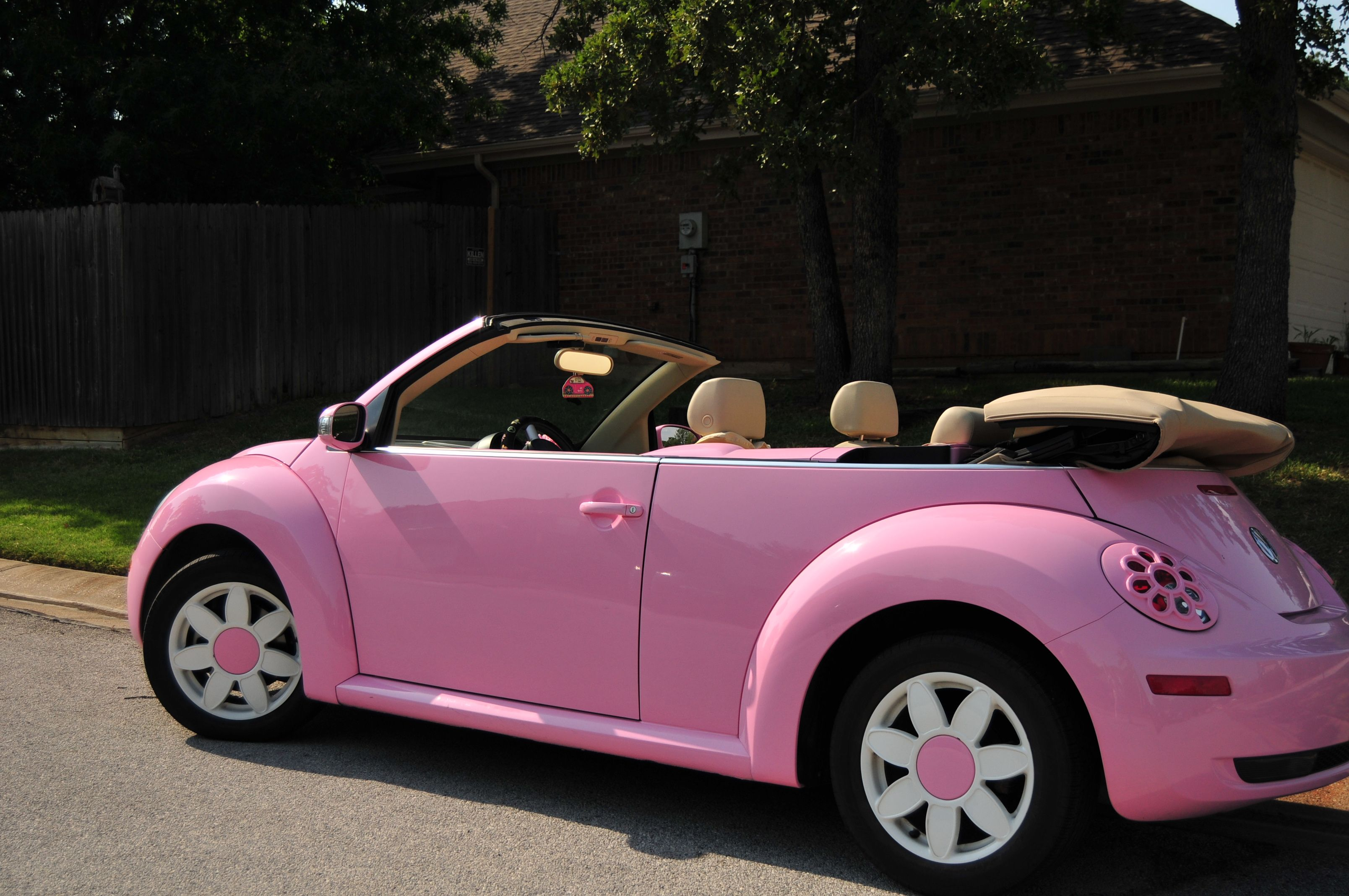 pink VW Beetle I love it! | My Style | Pinterest | Vw beetles ...