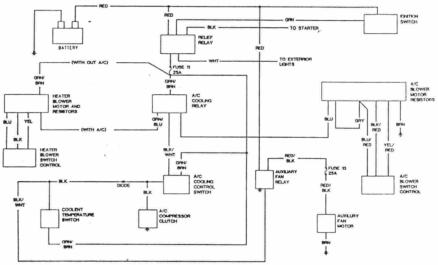 Ac Circuit Diagram Wiring Schematic Images Gallery