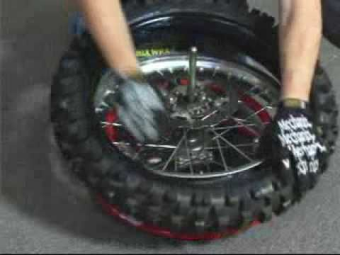 How To Change A Tire Part 1 Of 2 Dirt Bike Tires Off Road