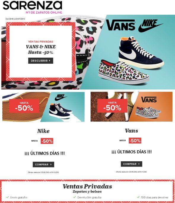 ofertas en zapatillas vans