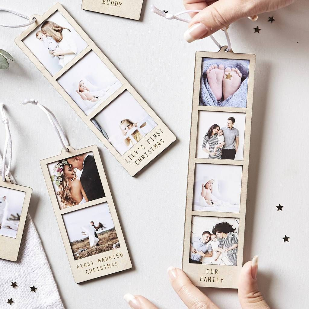 Personalised Hanging Photo Decoration In 2020 Hanging Photos Photo Decor Personalized Photo Gifts