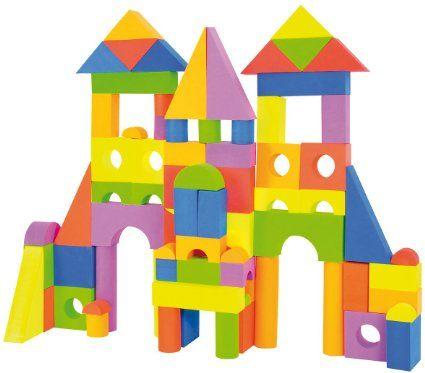 100 Pièce Enfants Bloc de Construction éducatif Set Math Lien blocs 3 Ans