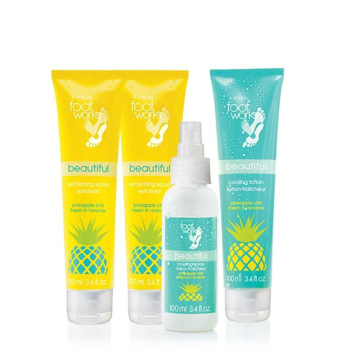 Refresh your feet with a cooling pineapple treat...and a twist of lime.  www.youravon.com/icbeauty