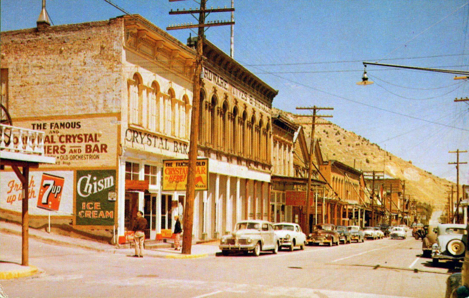 Main Street Virginia City Nevada 1955 Virginia City Places Around The World Reno Nevada