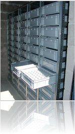 Plastic Container Storage Racking Plastic Container Storage Storage Rack Plastic Containers