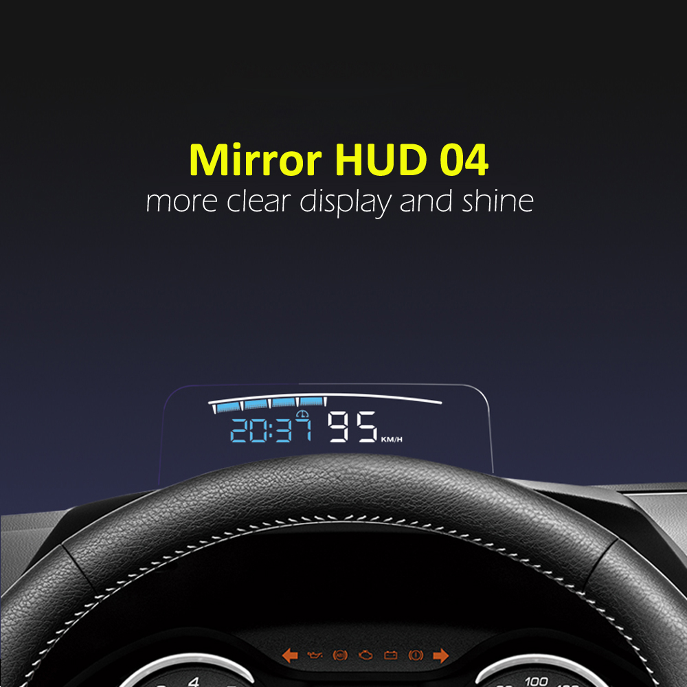 Eanop Hud Mirror 04 Car Head Up Display Windshield Speed Projector