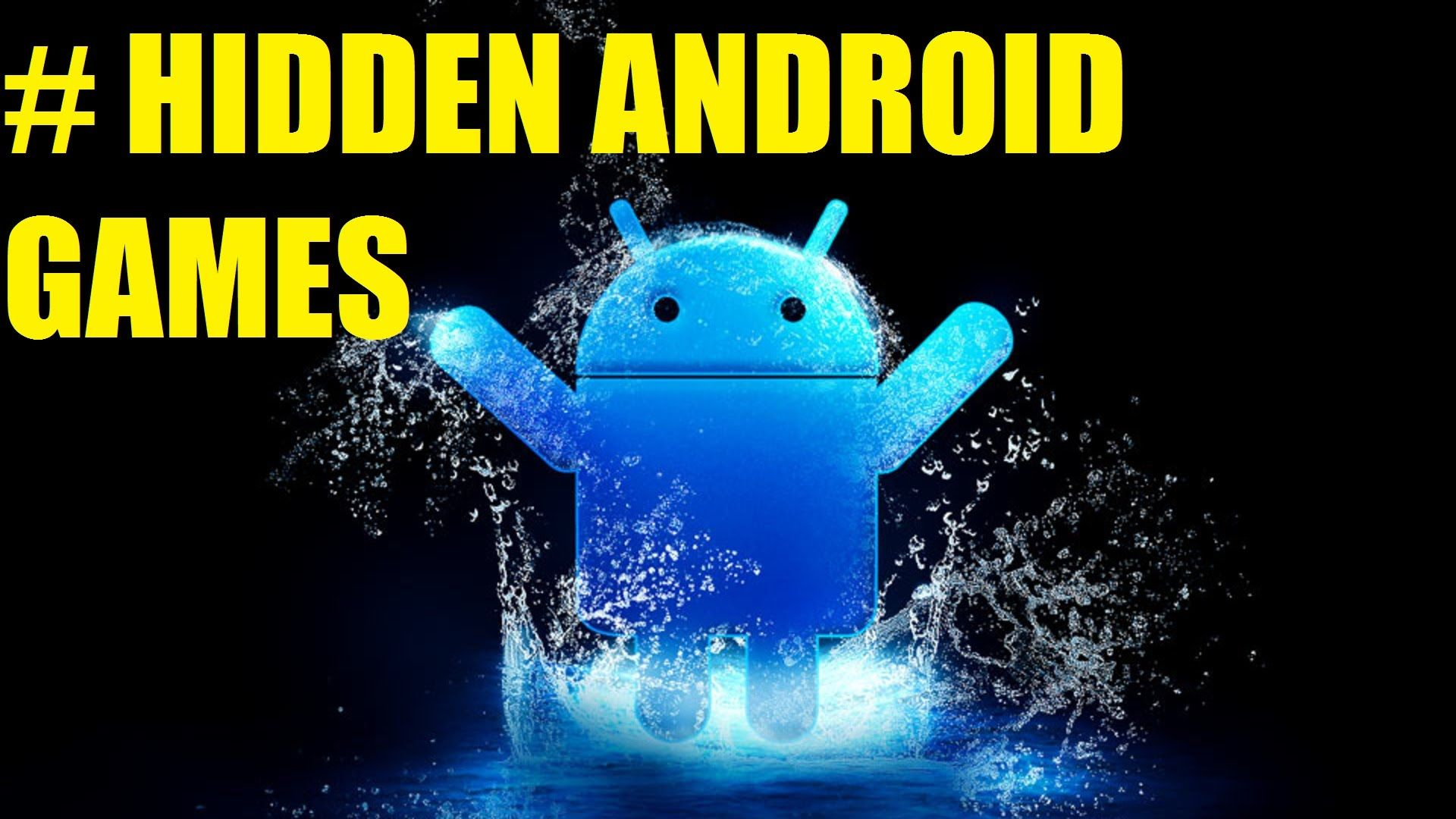 5 Hidden games on Android Phone!!!