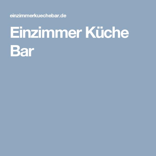Einzimmer Kuche Bar Cafe Bar Restaurant Gourmet