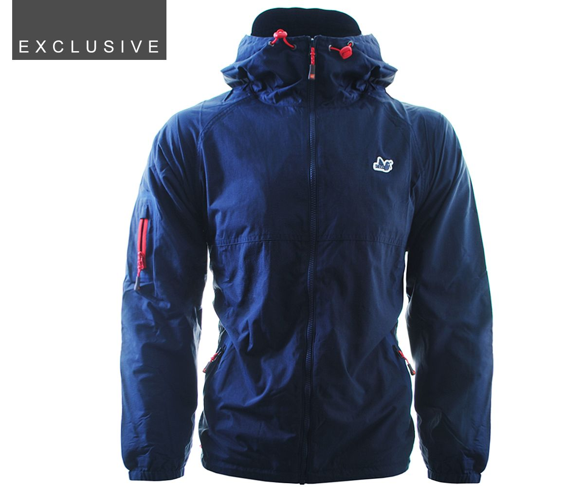 Peaceful hooligan alfie jacket navy exclusive terraces menswear