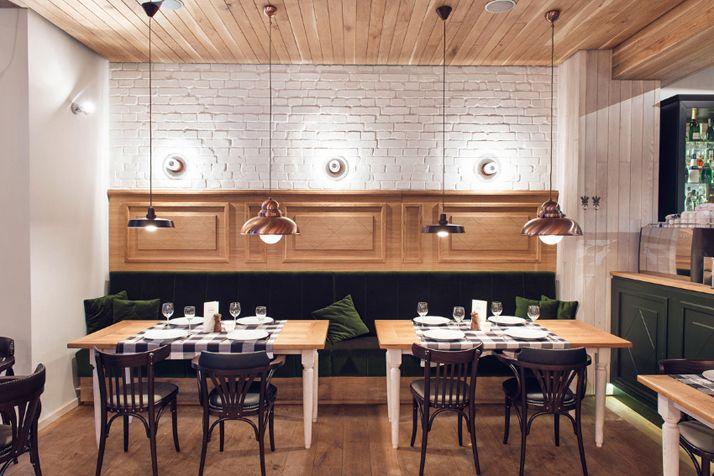 La déco champêtre chic d\'un restaurant | Restaurante y Nuevas